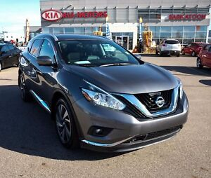 2016 Nissan Murano Platinum HTD/COOLED SEATS - LOW KM'S - NO...