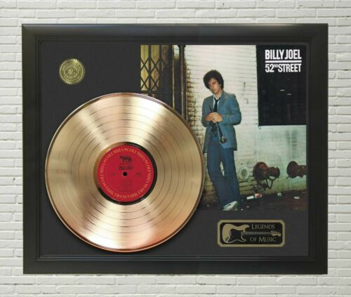 "Billy Joel Framed wood Legends Of Music LP Record Display. ""C3"""