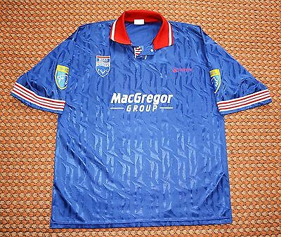 1995 - 1996 Ross County, Home Shirt, #17 Player Worn, Scotland image
