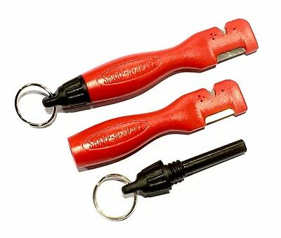 Sharpens Best Sharp-N-Spark Knife Sharpener & Fire Starter Multi Tool