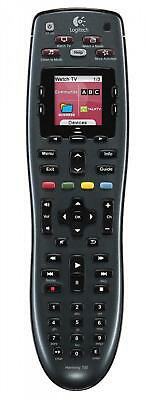 Logitech 915-000162 Harmony 700 Rechargeable Remote with Color Screen (Black)