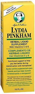 Lydia Pinkham Herbal Liquid Supplement 16 (Herbal Iron Supplement)
