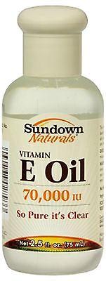 Sundown Naturals Vitamin E Oil 2.50 Oz (pack Of 4)