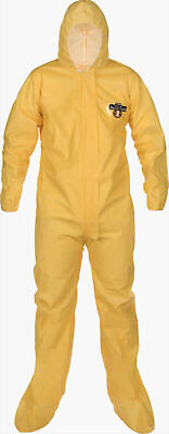 Ppe Lakeland Protective Suit With Hood Booties
