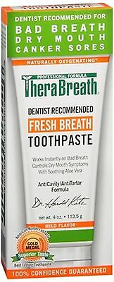 TheraBreath Fresh Breath Toothpaste 4 oz