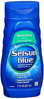 Selsun Blue Dandruff Shampoo Moisturizing 7 oz