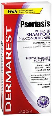 DERMAREST Psoriasis Medicated Shampoo Plus Conditioner 8 oz