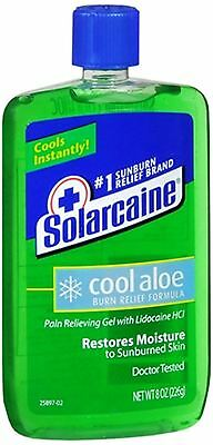 Solarcaine Cool Aloe Burn Relief Gel 8 Oz (pack Of 4)