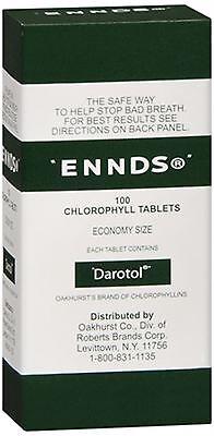 - Ennds Chlorophyll Tablets 100 Tablets (Pack of 5)