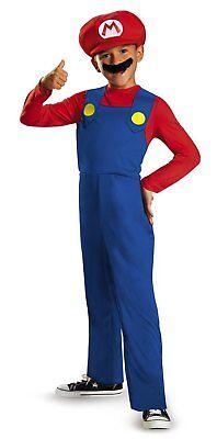 Super Mario Bros. - Mario - Classic Child Costume (Disguise Brand) - Super Mario Kids Costume