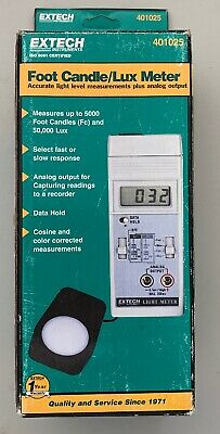 Extech Foot Candle Lux Meter Instrument