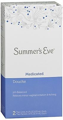 Summer's Eve Douche Medicated 2 Each (Pack of 9)