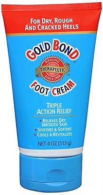 Gold Bond Foot Cream Therapeutic 4 Oz (pack Of 5)