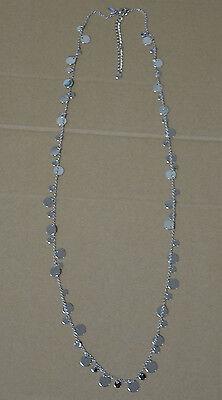 Lia Sophia Panorama Necklace Silver