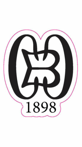 """Country Club of Baltimore Golf Logo Decal - 2.25"""" x 2.75"""""""