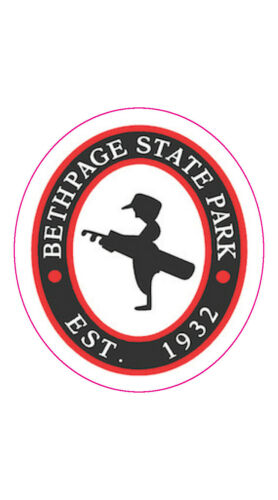 """Bethpage State Park Logo Golf Decal - 2"""" x 2.25"""""""