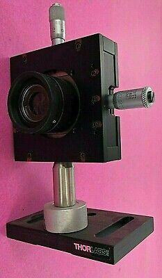 Thorlabs Starrett Iris 460ma Micrometer Head 0-6.5mm Range 64445