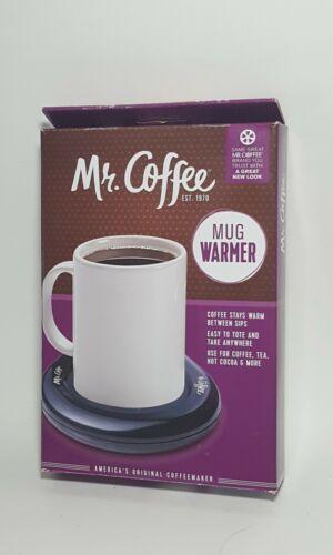 Mr. Coffee Electric Mug Warmer Black Free Shipping Brand New