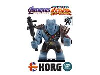 Korg Kronan Bludgeon Mini Figure Rockman Avengers Endgame Marvel MCU UK Seller