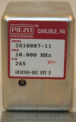 Piezo 2810007-11 Hp 10544a Crystal Oscillator 10 Mhz