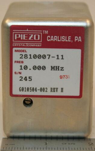 Piezo 2810007-11(= HP 10544A) Crystal Oscillator 10 MHz
