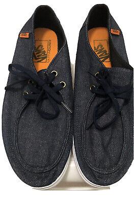 Vans Ultracush Sneakers Skater Shoes Mens Size 8 Denim Blue 721278