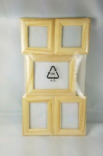 IKEA KOLIBRI Small Wood Wooden Photo Pictures Frames Set of