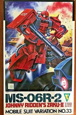 Used, MSV Series 33 MS-06R-2 Johny Ridden's Zaku II 1/100 Plastic Bandai -Vintage Rare for sale  Pacifica