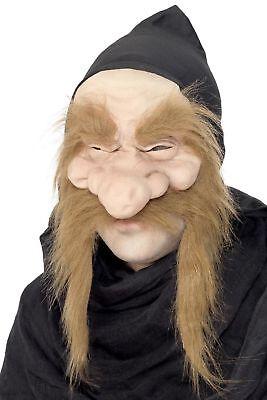 Men's Seven Dwarfs Grumpy Old Man Gold Digger Fancy Dress Fancy Mask Stag Party
