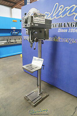 15 Used Clausing Variable Speed Drill Press Mdl. 1689 A5509