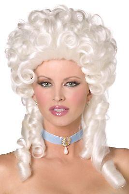 Women's Marie Antoinette Fancy Dress Wig Posh Burlesque - Marie Antoinette Fancy Dress Kostüme