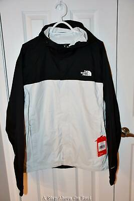 The North Face Venture 2 Jacket Black/White Size: Large #NFOA2VD35WH NWT