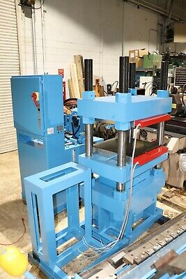 Wabash 200 Ton Hydraulic Up Acting 4 Post Heated Platen Press - 20hp Pump