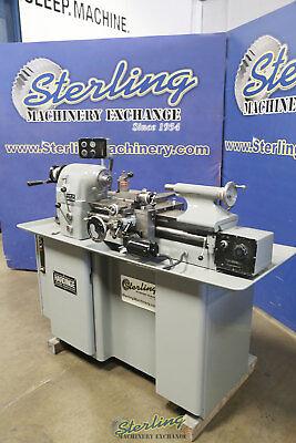 11 X 18 Used Hardinge Precision Toolroom Turning Facing Boring Lathe Tfb-h A