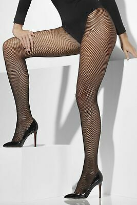 FISHNET TIGHTS FEVER Black Sexy Stockings Womens Ladies Flapper Size 6-18 UK . - Mardi Gras Tights