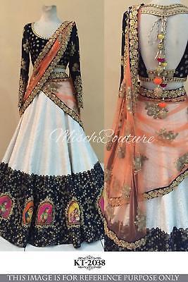 Bollywood Indian Party Wear Lehenga Lengha Choli Wedding Saree Pakistani Dress