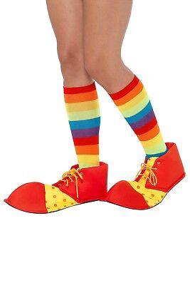 Smi - Kostüm Zubehör Clown Schuhe Karneval Fasching - Halloween Clown Schuhe