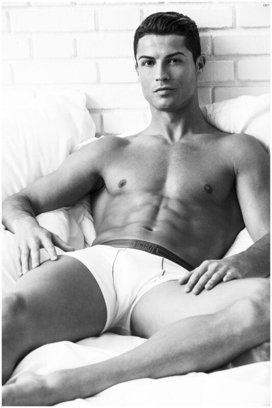 Cristiano Ronaldo Black And White 8x10 Photo Print