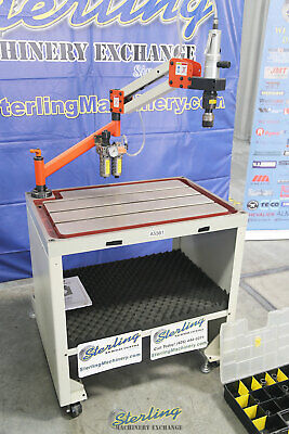 0.11 To 1 Tapping Range Used Demo Machinery Baileigh Single Arm Articulat