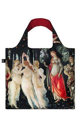LOQI Museum Art TOTE BAG Grocery Shopping Reusable BOTTICELLI Primavera Goddess Goddess Tote Bag