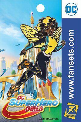 Bumblebee Superhero (DC Comics SuperHero Girls STYLE BUMBLEBEE Licensed FanSets Pin)