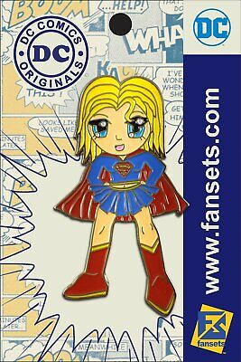 DC Comics Anime SUPERGIRL Licensed FanSets Pin MicroJustice](Anime Super Girl)