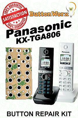 Keypad Button Repair Kit Panasonic KX-TGA805 KX-TGA806exb KX-TGA806azb TGA806xxx