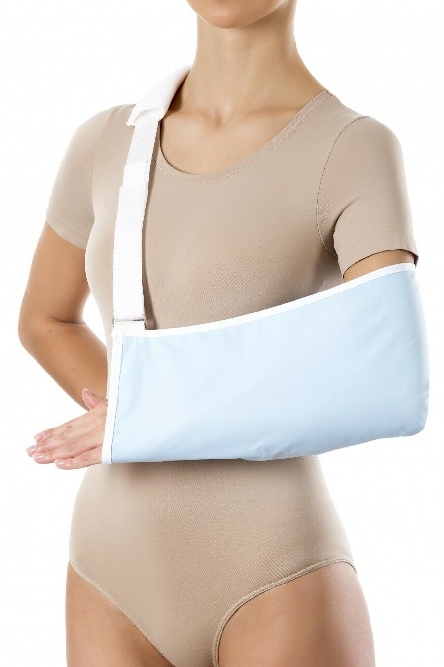 Armschlinge Armtragegurt Armbandage PANI TERESA® Armorthese Standard hell blau