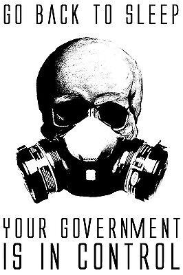 """Government Anarchy 911 Anonymous Anti New World Order Vinyl Decal Sticker 4"""""""