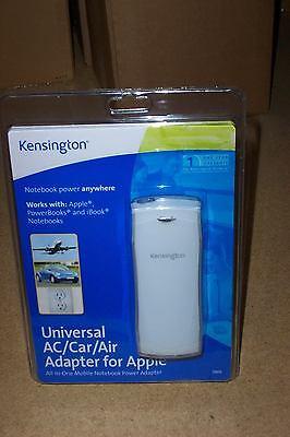 (5) Kensington Univ AC CAR AIR Adapter APPLE MAC # 33079 CHARGER ()