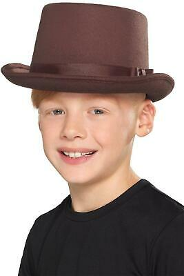 KIDS TOP HAT OLD ENGLISH BOOK DAY FANCY - Old English Kostüm