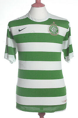 Celtic, 2007, 40th Anniversary Signed Home Shirt (Pre-Owned) XL.