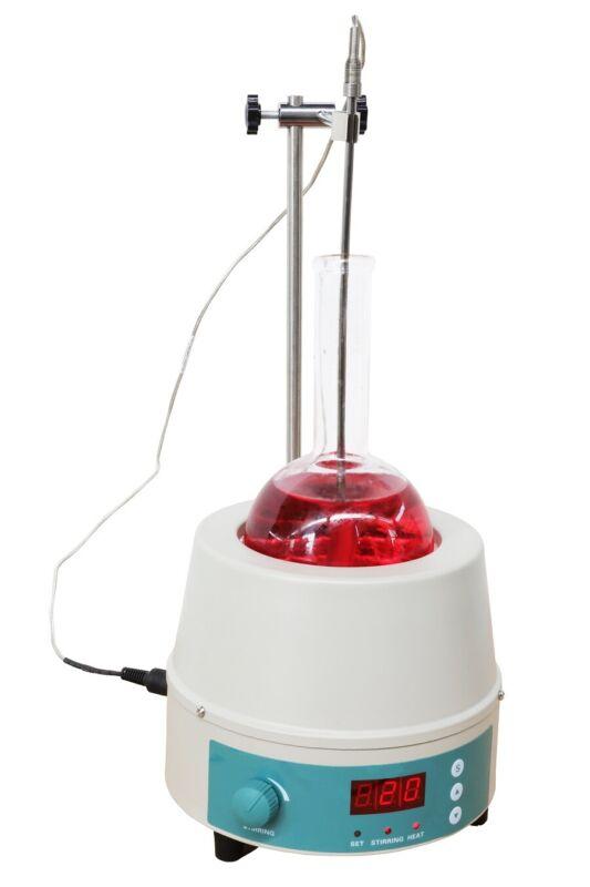 220V 5000ml Digital Magnetic Stirring Stirrer Heating Mantle Fast Shipping