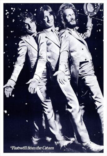 Cream Farewell concert poster print